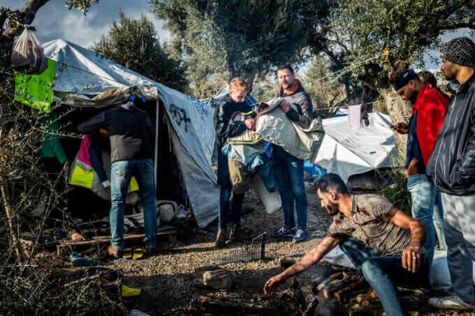 Corona: Geflüchtete in Moria befürchten eine humanitäre Katastrophe