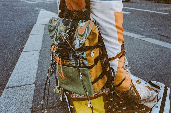Sheltersuit x Chloé backpack